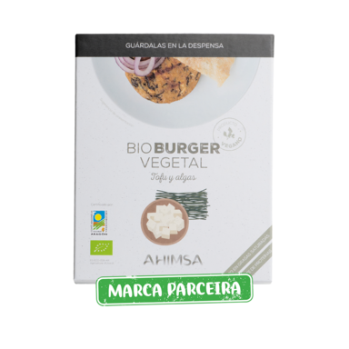 Burger Vegan Tofu com algas