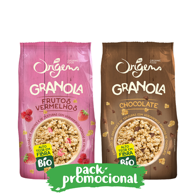 Pack Granola de Chocolate e Frutos Vermelhos