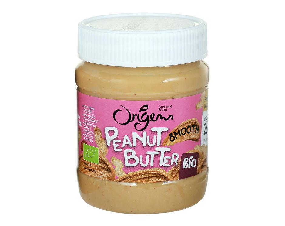 Manteiga de Amendoim Suave em embalagem de 340g